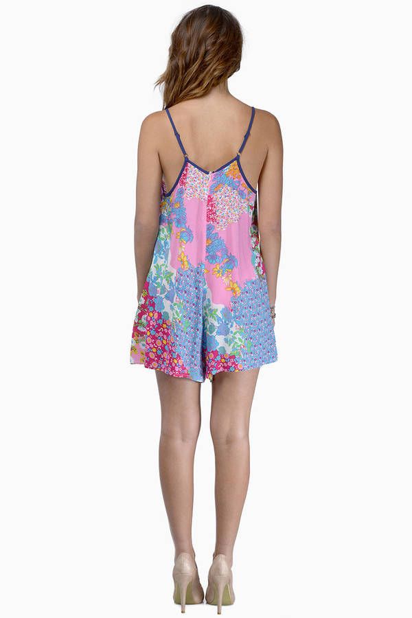 Going With The Flow Romper