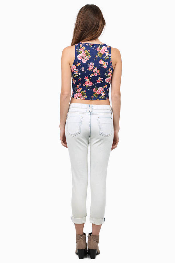 Walk In The Park Crop Top