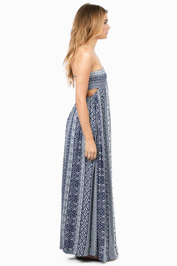 Katie Strapless Maxi Dress
