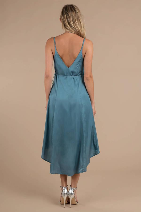 82952da616 Ladylike Blue Midi Dress - £20