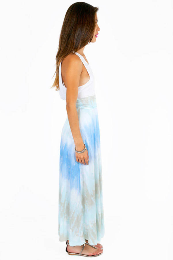 Blast From The Past Maxi Skirt