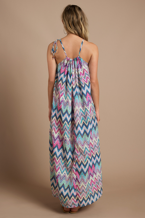 Exploring Zig Zags Maxi Dress