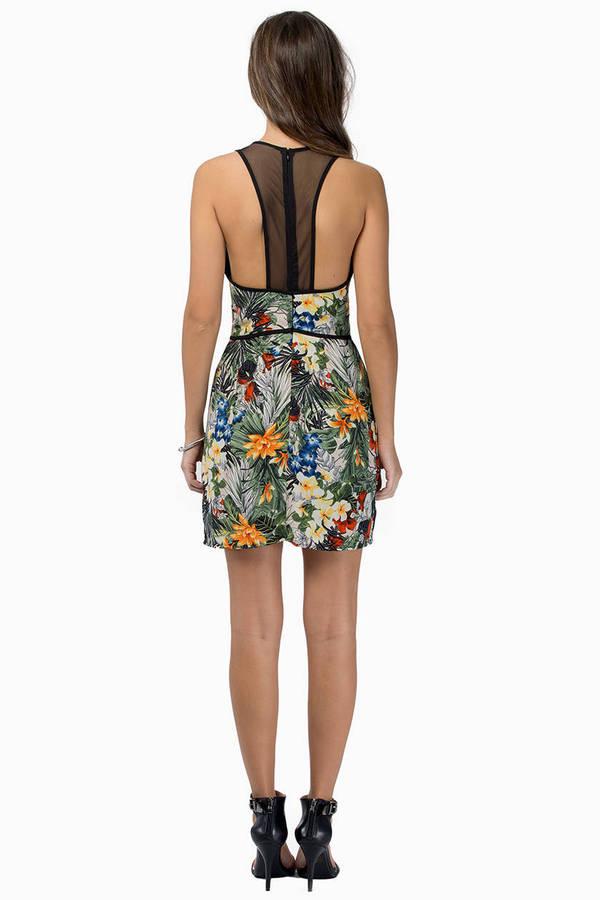 Fergie Floral Dress