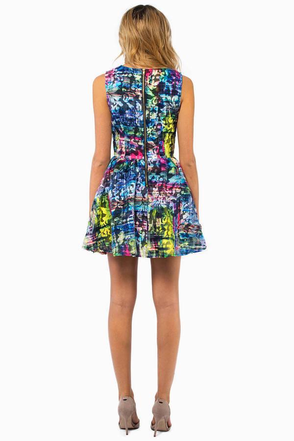English Rose Trini Skater Dress