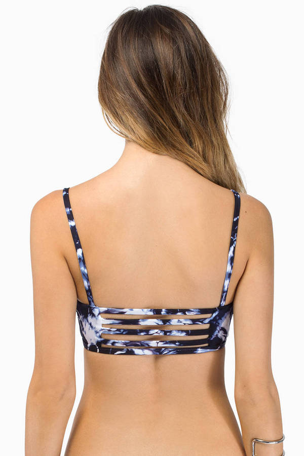 Blue Life Malibu Crush Triangle Bikini Top