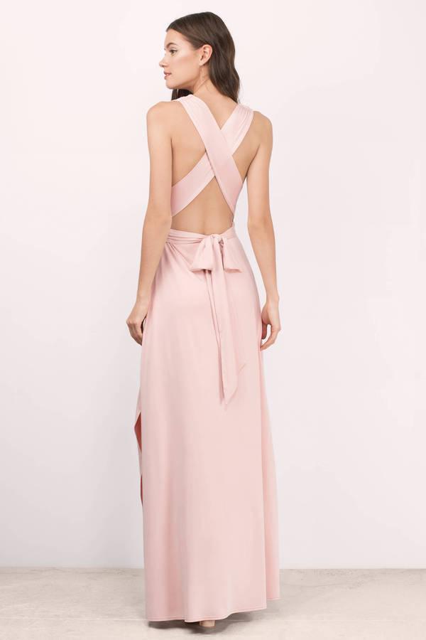 Kylen Blush Maxi Dress
