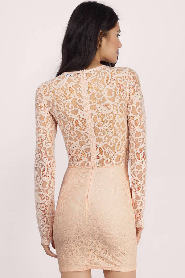 My Lace Or Yours Bodycon Dress