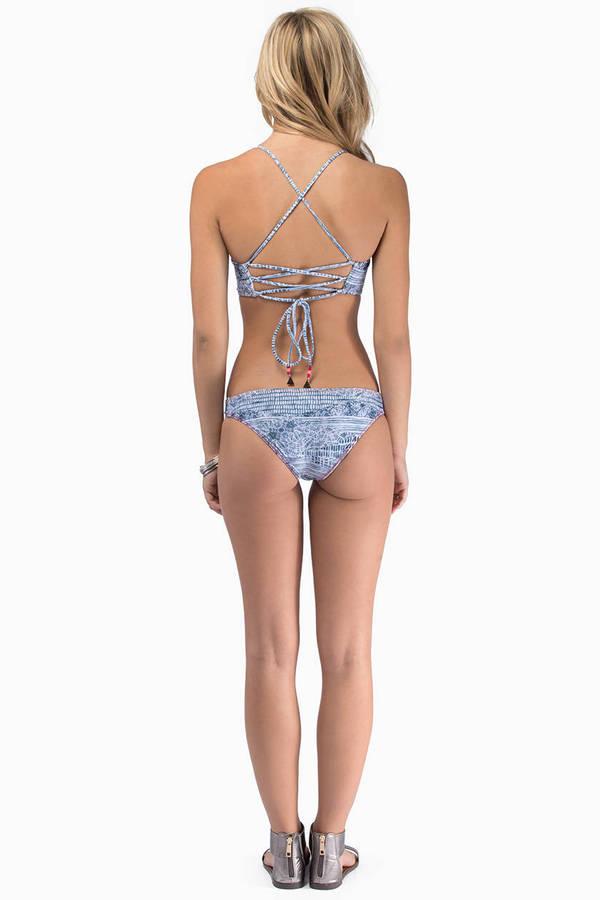 Tallow Lithium Bustier Bikini