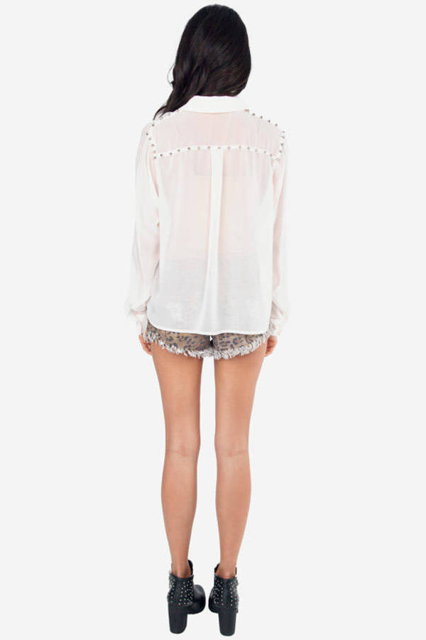 Scaling Studs Blouse