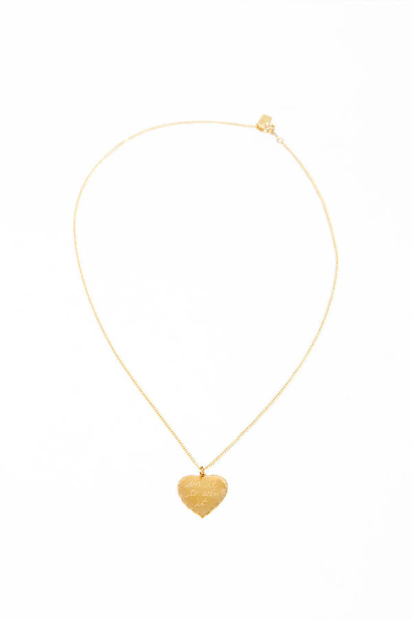 In God We Trust Sweet Nothings Necklace - In It To Win It