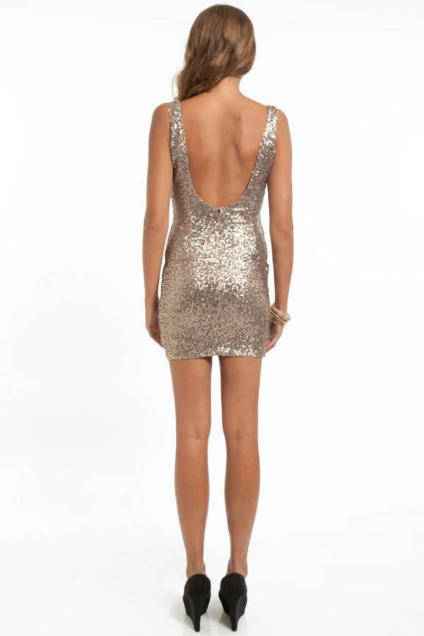 Starlight Sequin Tank Dress