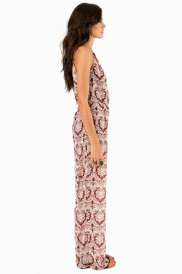 Baroque With Me Jumpsuit
