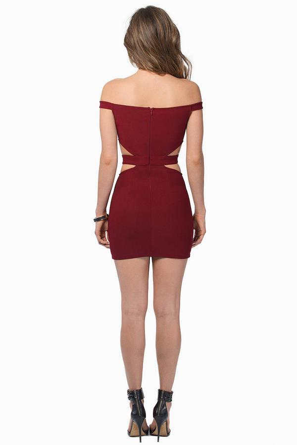 Below The Shoulders Dress