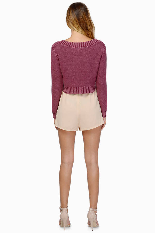 Cassie Cropped Sweater