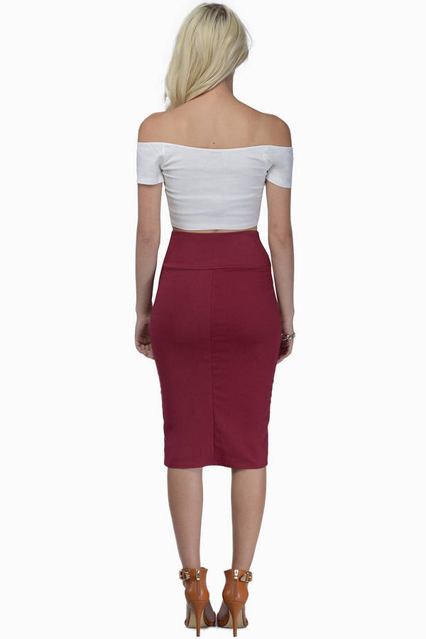 High Altitudes Pencil Skirt
