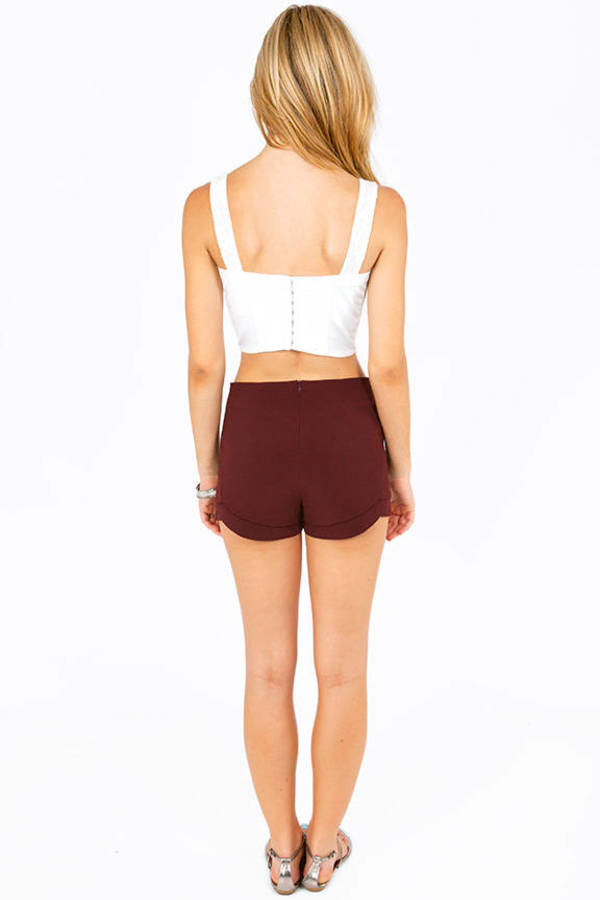Slightly Scalloped Shorts