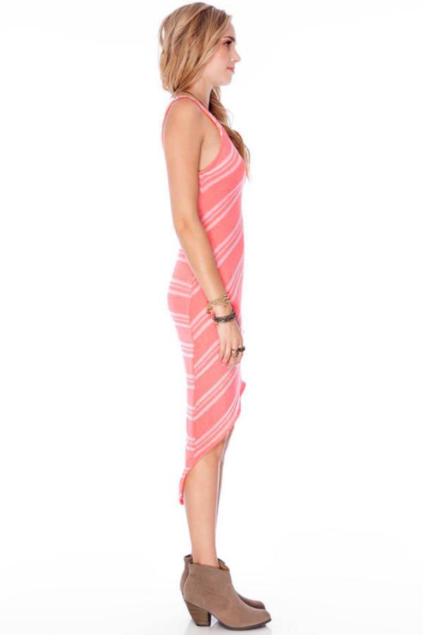 Lush Ally Striped Knit Dress