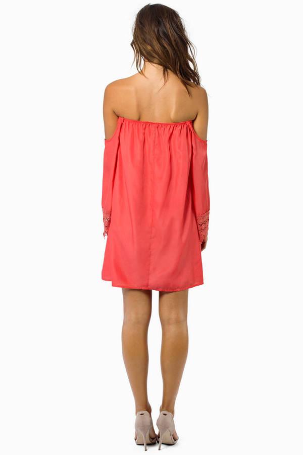 Ophelia Off Shoulder Dress