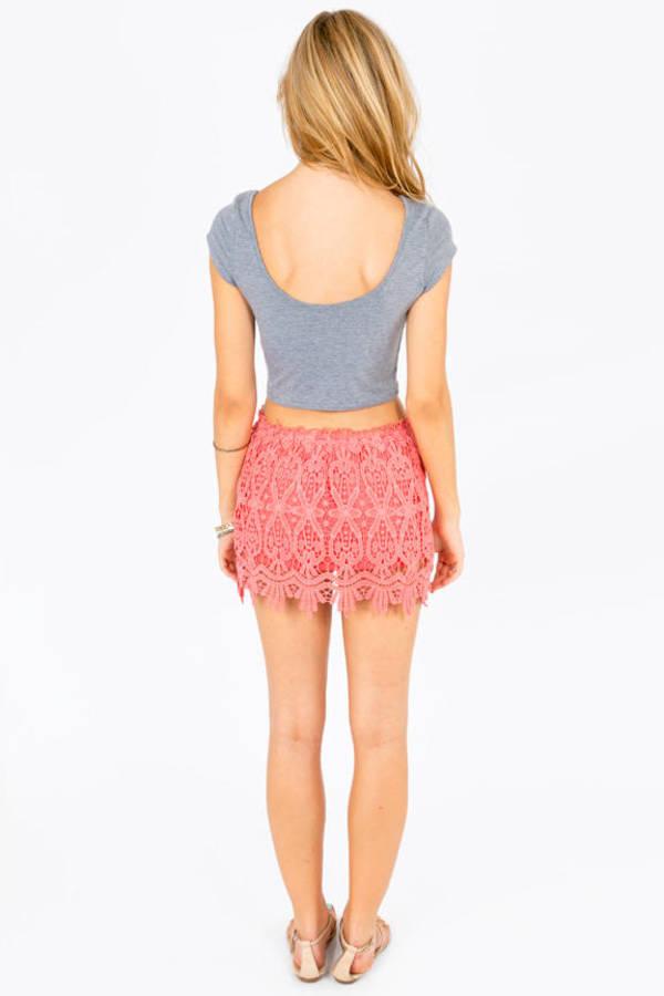 St Tropez Lace Skirt