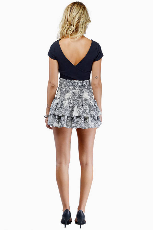 Like It Ruffled Skirt