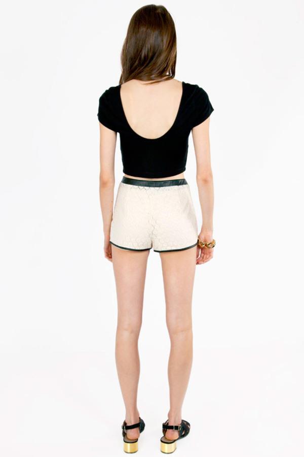 Borderline Lace Shorts