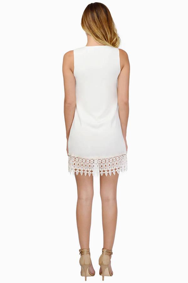Carol Trimmed Dress