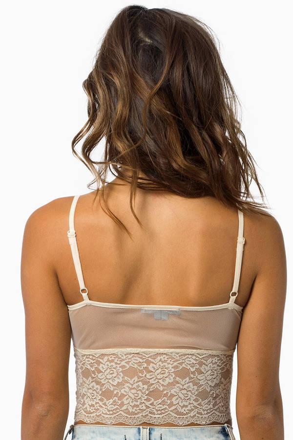 Lace Bottom Bralette