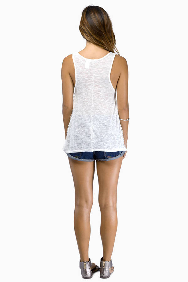 Side Action Tank Top