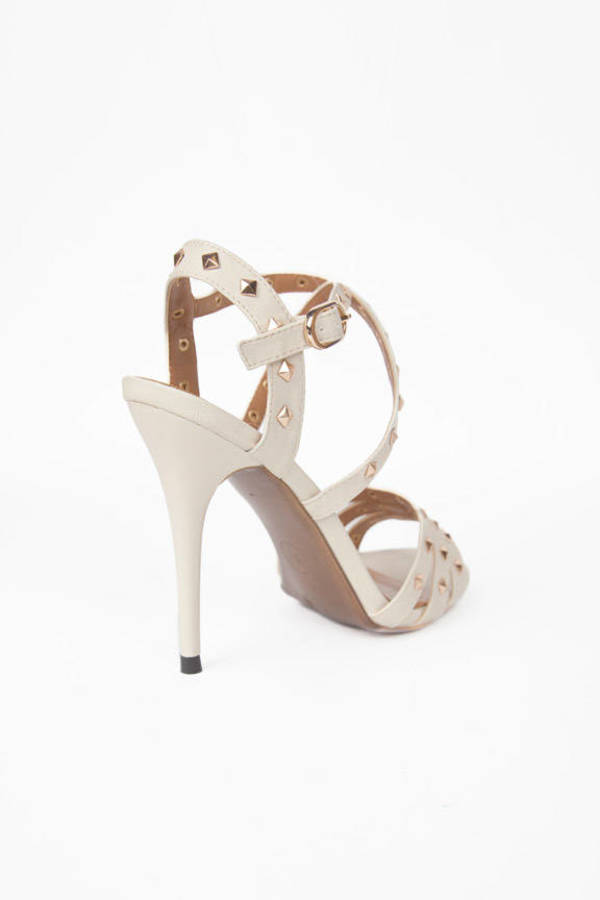 Straps and Studs Heels