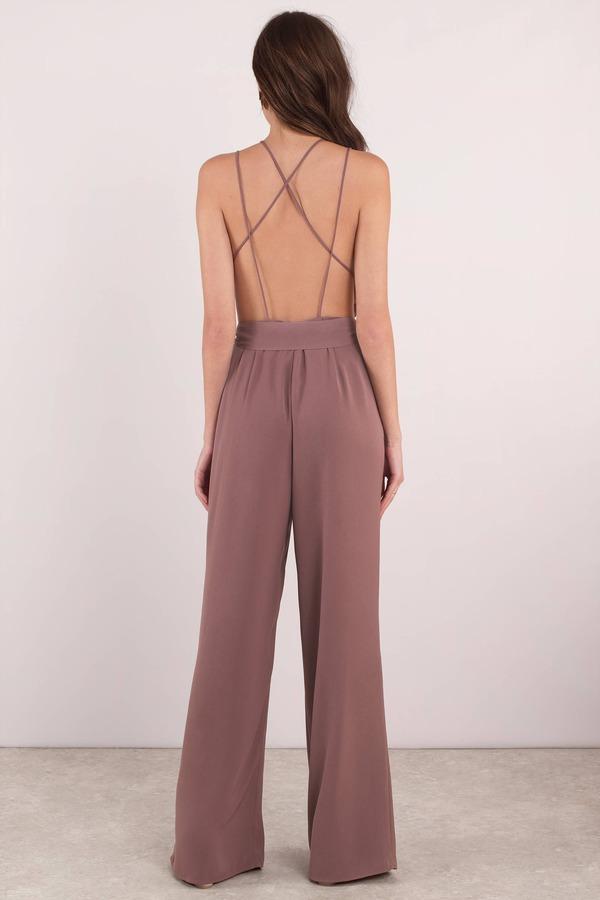 fc82a31e7890 Pink Jumpsuit - Wedding Jumpsuit - Pink Waist Tie Jumpsuit - £24 ...