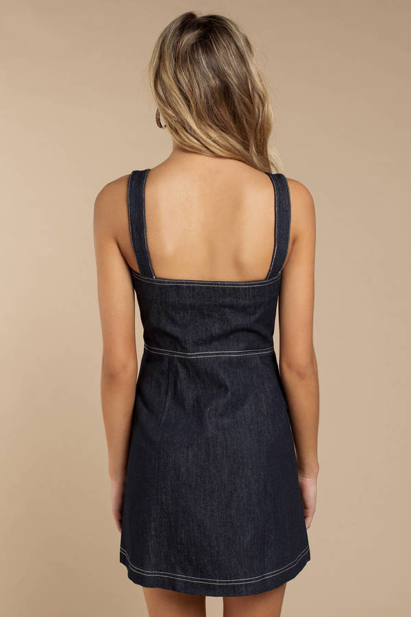 d68f990d4f8 ... Capulet Capulet Tami Dark Wash Denim Mini Dress ...