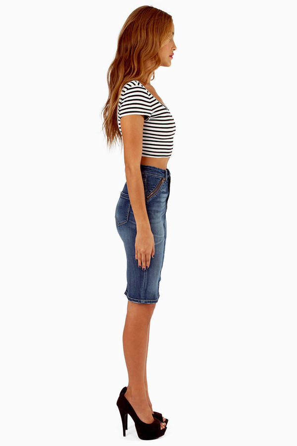 Blank Rebel Festival Pencil Skirt