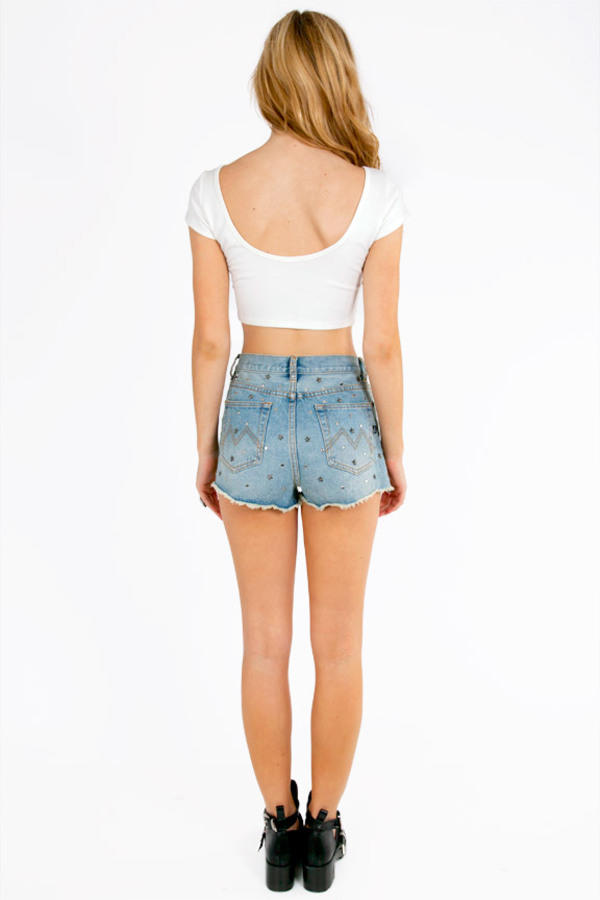 MINKPINK Stud Mountain Shorts