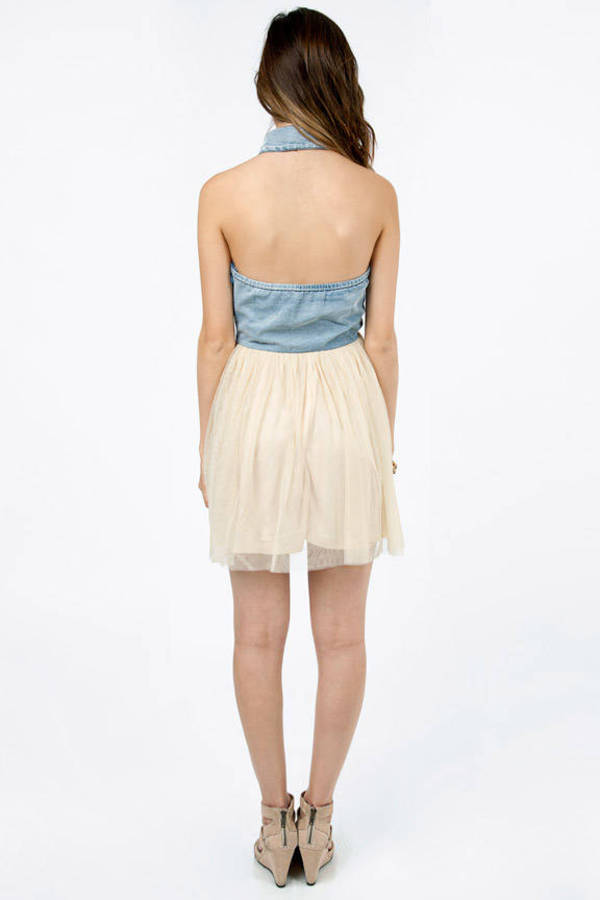 Floating Collar Dress