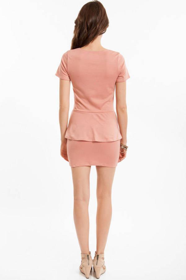 Paula Peplum Dress