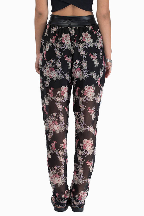 Keesha Floral Pants