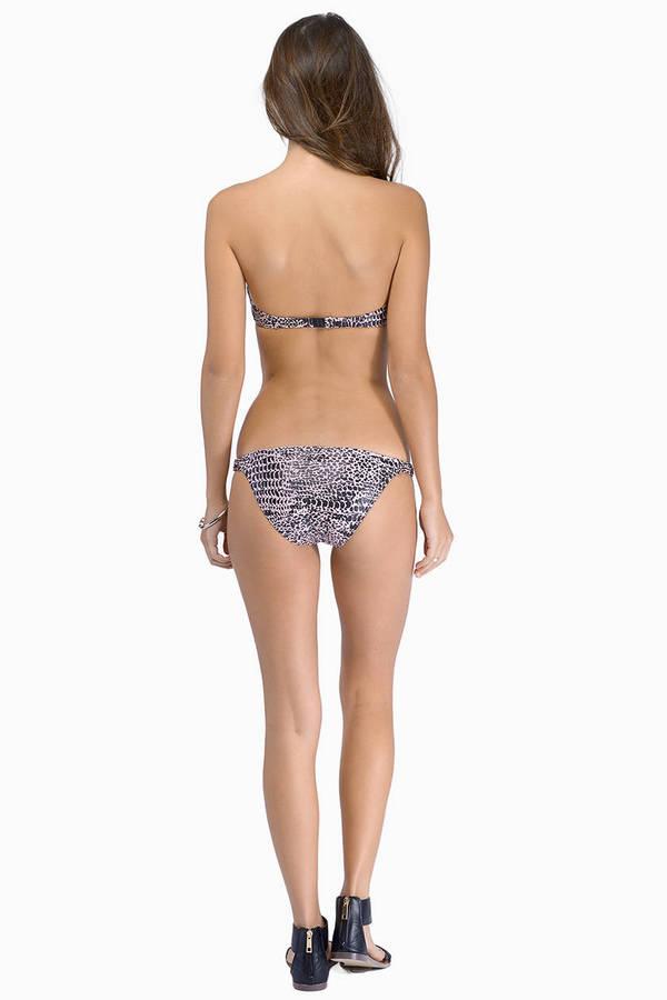 Insight Stingers Bandeau Bikini Set