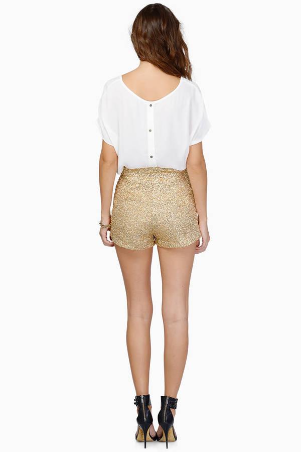 Diva Sequin Shorts