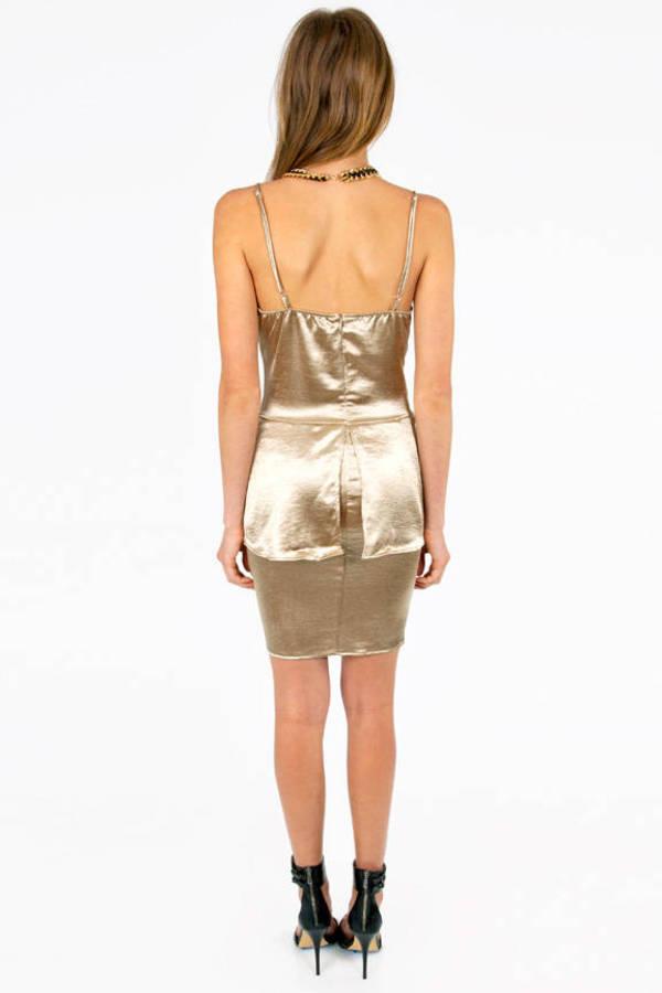 Fancy Fine Peplum Dress