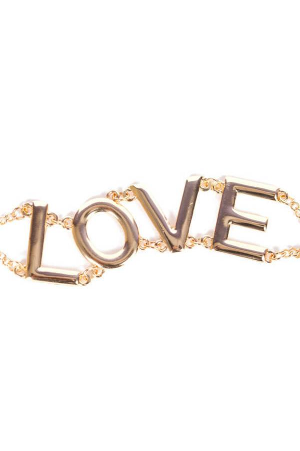 L-O-V-E Bracelet