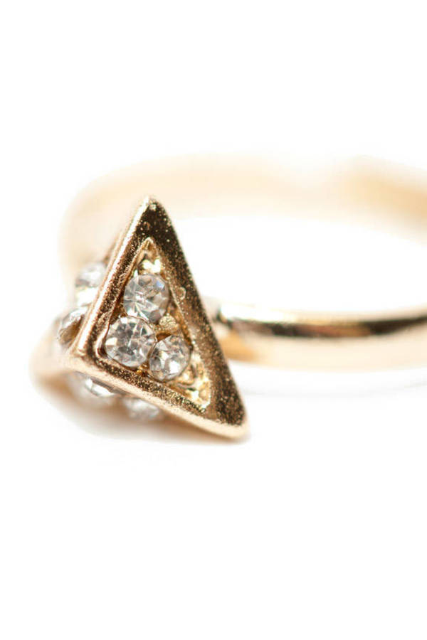 Pyramid Glam Ring