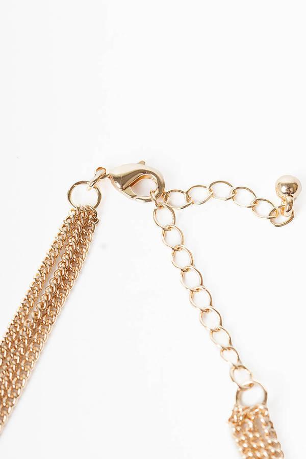 Three Tier Cross Necklace