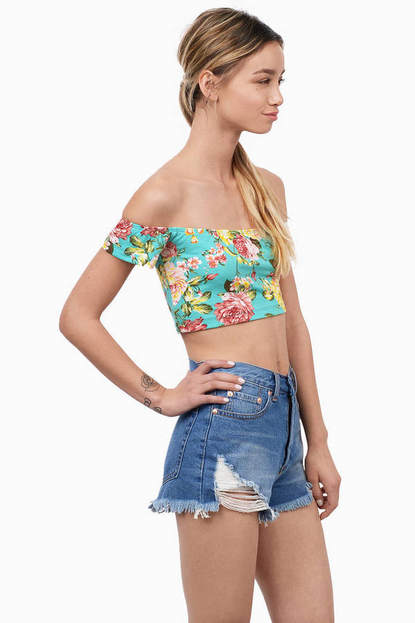Flora Cropped Top