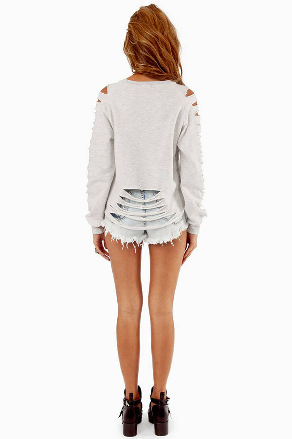 All Patched Up Sweatshirt