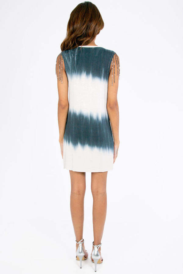 Tie Dyed and Chained Tunic