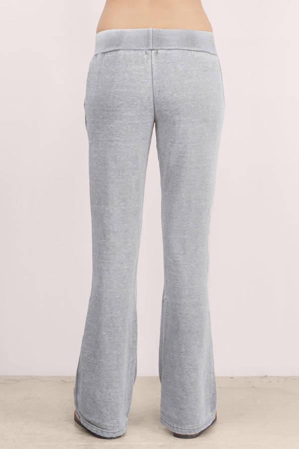 Black Pants Low Rise Pants Fit And Flare Pants Black