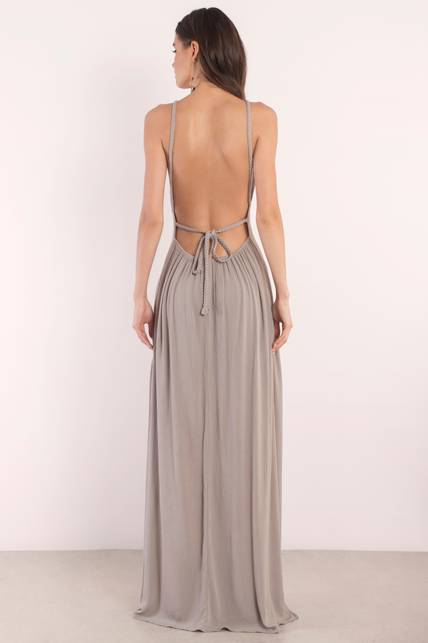 Grey Maxi Dresses