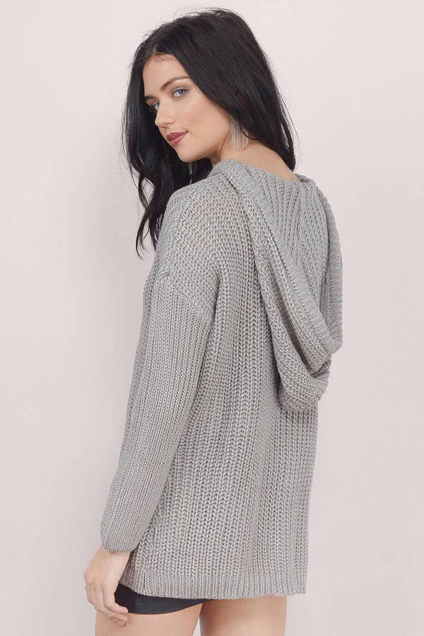 Grey Sweater Oversized Sweater Grey Long Sweater 16