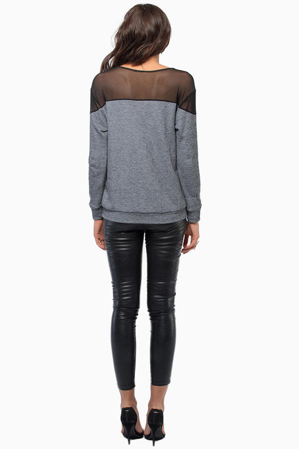 Nocturnal Mesh Sweater