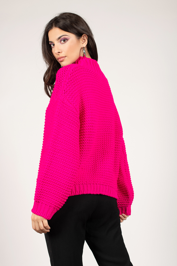 Sweaters For Women  Oversized Sweaters, Cable Knit -4786